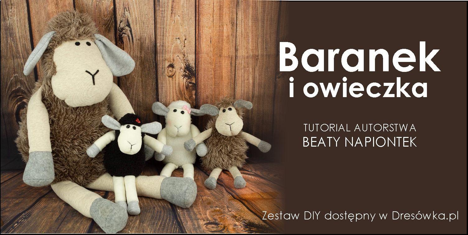 Owieczki i baranki z zestawu DIY - tutorial