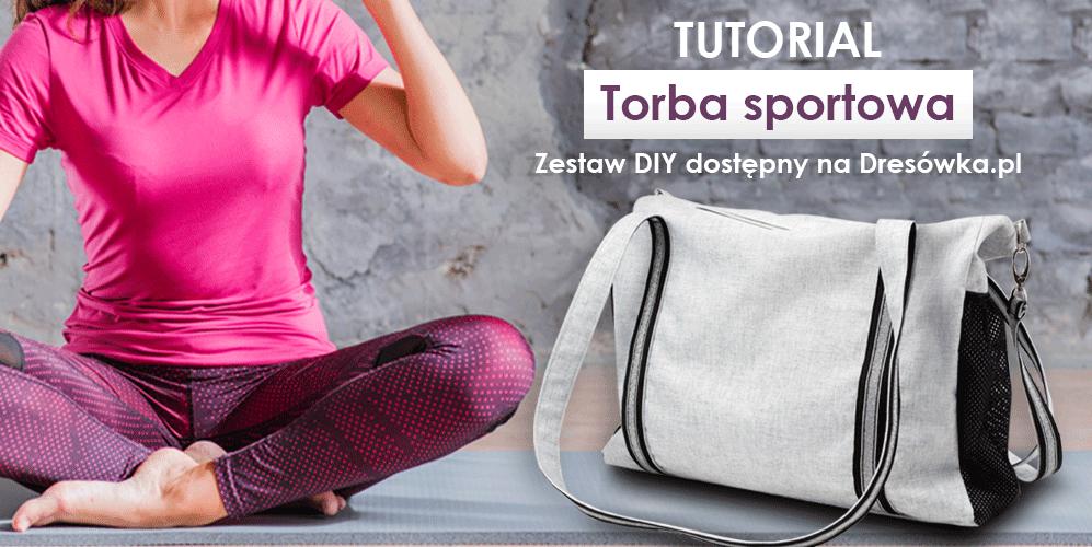 Torba sportowa - zestaw DIY