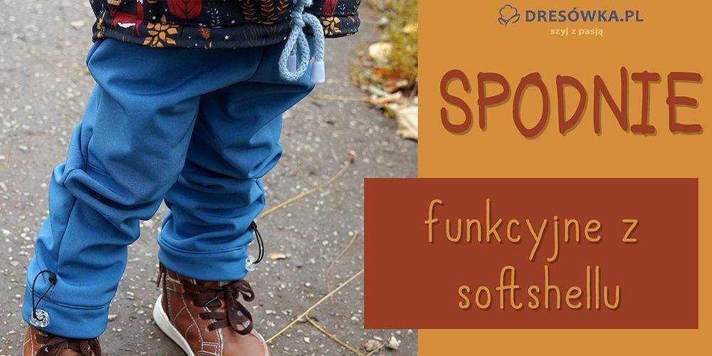 Softshellowe spodnie