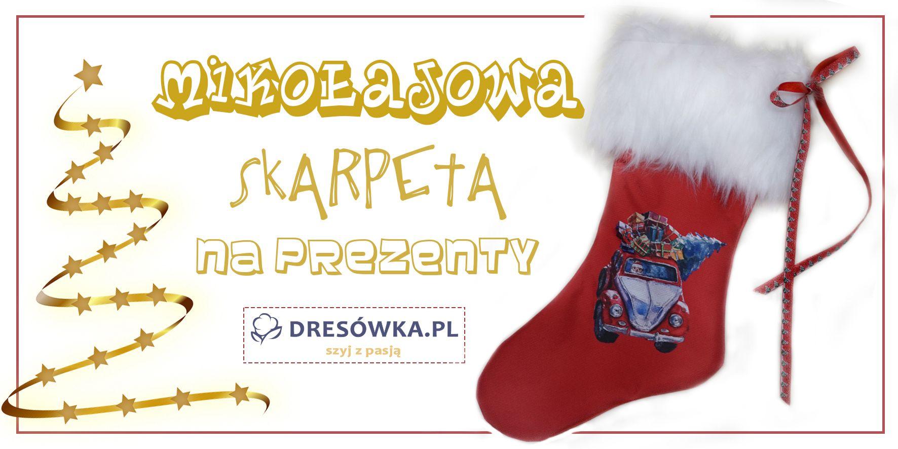 Mikołajowa skarpeta na prezenty - gotowe zestawy
