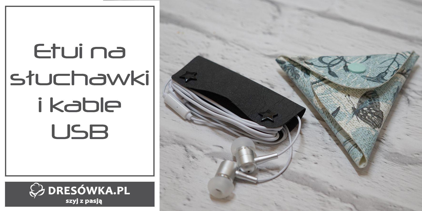 Etui na słuchawki, kable USB i drobiazgi