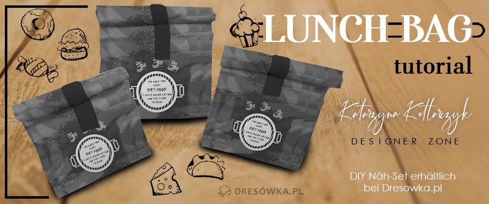 Lunchbag aus dem DIY Nähset nähen