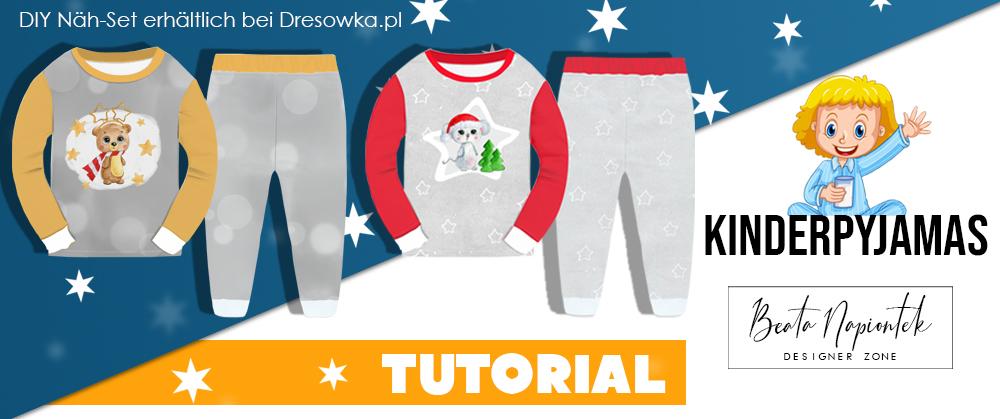 Kinderpyjama DIY Set
