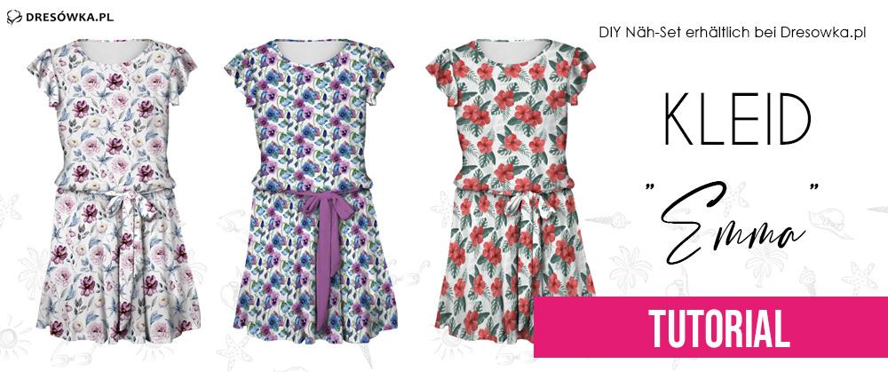 DIY Nähset Frauenkleid Emma