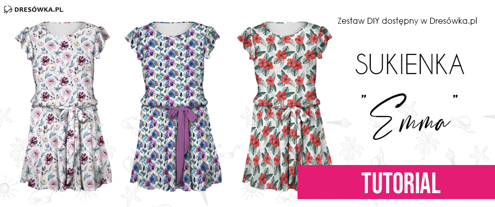 Sukienka Emma z zestawu DIY