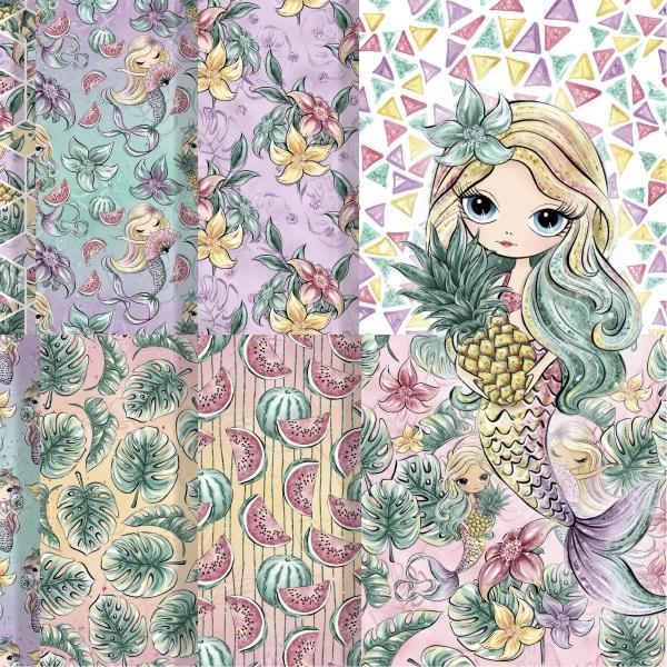 Tropische Meerjungfrauen