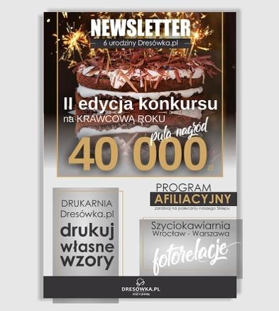 Newsletter 6. urodziny Dresowka.pl