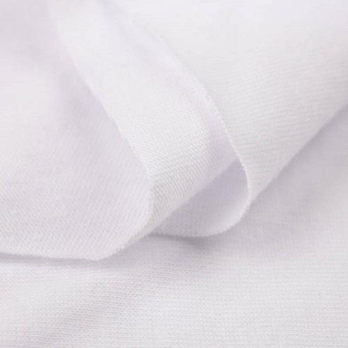 Dünne Baumwoll T-Shirt Maschenware Single Jersey